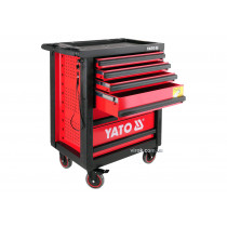 Шафа-візок для інструментів YATO з 6 шуфлядами, 958 x 766 x 465 мм