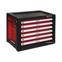 Шафа для інструментів YATO з 6 шуфлядами 533х 397х 55 мм, 690x 465x 535 мм