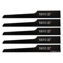 """Полотна для пневматической сабельной пилы YT-09955 YATO 32 зуба/1"""" 5 шт"""