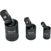 """Карданы ударные YATO  1/2 """"3/8"""" 1/4 """"3 шт."""