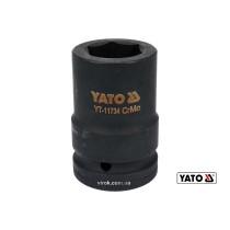 "Головка торцевая ударная шестигранная YATO 1"" М30 x 80 мм Cr-Mo"