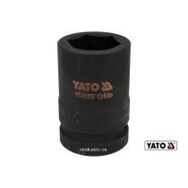 "Головка торцевая ударная шестигранная YATO 1"" М34 x 80 мм Cr-Mo"