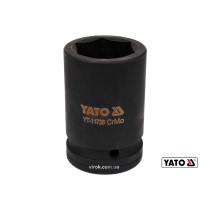 "Головка торцевая ударная шестигранная YATO 1"" М36 x 80 мм Cr-Mo"
