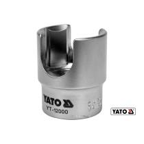 """Головка торцевая для топливного фильтра YATO 1/2"""" М27 мм Cr-V"""