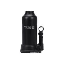 Домкрат гидравлический бутылочный YATO 8 т 220-488 мм