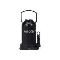 Домкрат гидравлический бутылочный YATO 25 т 240-510 мм