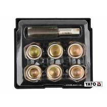 Набор для ремонта масляных пробок YATO М17 х 1.5 6 шт