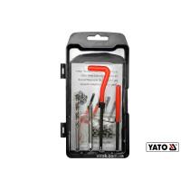 Набор для ремонта резьбы YATO М5 x 0.8 мм HSS 4241/4341 30 шт