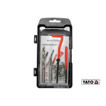 Набор для ремонта резьбы YATO М6 x 1.0 мм HSS 4241/4341 30 шт