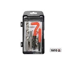 Набор для ремонта резьбы YATO М10 x 1.5 мм HSS 4241/4341 30 шт