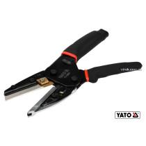 Ножницы многофункциональные YATO 250 мм CrMo + SK5 58-62 HRC + 4 запасных лезвия