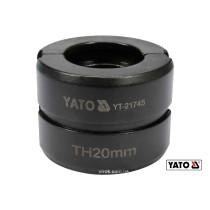 Насадка для пресс-клещей YT-21735 YATO TH20 мм