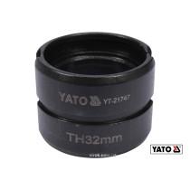 Насадка для пресс-клещей YT-21735 YATO TH32 мм