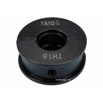 Насадка для пресс-клещей YT-21750 YATO TH16 мм