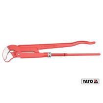 "Ключ трубный переставной YATO тип ""S""-3.0"" 650 мм (10.5"") DIN 5234 Cr-V"