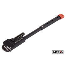 "Ключ трубный телескопический YATO 400-550 мм (16""/18""/20""/22"") Ø80 мм CrMo 55-60 HRC"