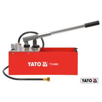 Пресс ручной для контроля плотности трубных систем YATO 5 Мпа 12 л