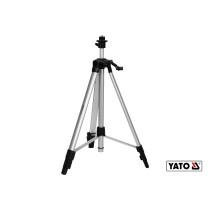 """Штатив тринога алюминиевый YATO с телескопическими ножками 60-150 см резьба 1/4"""" и 5/8"""""""