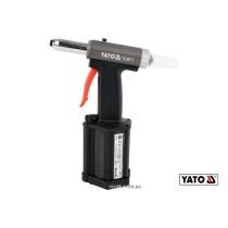 Пневмозаклепочник YATO для заклепок 2.4-5 мм 54 л/мин