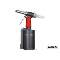 Пневмозаклепочник YATO для заклепок 2.4-6.4 мм 0.99 л/мин