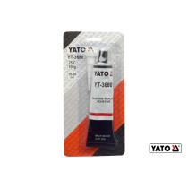 Клей-герметик силиконовый термо- и маслостойкий черный YATO 85 г