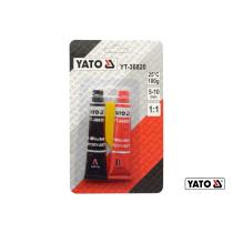 Клей двухкомпонентный эпоксидный YATO 5-10 мин по 10 г