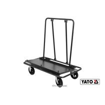 Тележка для транспортировки гипсокартонных плит YATO 940 кг 1240 х 640 х 1210 мм