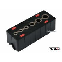 Шаблон для сверления отверстий YATO 4-12 мм