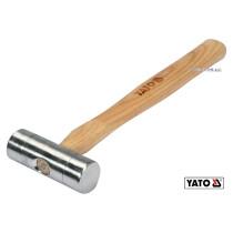 Молоток слесарный алюминиевый YATO Ø30 x 280 мм 150 г