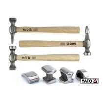 Молотки рихтовочные YATO 4.9 кг 7 шт