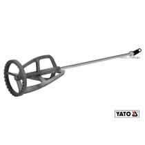 Миксер для краски и клея оцинкованный YATO Ø125 x 600 мм M14 20-30 кг