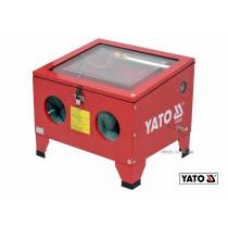 Камера пескоструйная YATO 90 л 0.27-0.82 МПа 424-707 л/мин 59 х 49 х 49 см