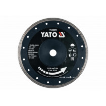 Диск отрезной алмазный по керамограниту, стеклу, керамике для мокрой и сухой резки YATO 230 x 2 x 10 x 22.2 мм