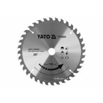 Диск пиляльний победітовий по дереву YATO: 235x25.4x2.8x1.8 мм, 36 зубців, R.P.M до 7000 1/хв