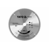 Диск пиляльний победітовий по дереву YATO: 305x30x3.2x2.2 мм, 96 зубців, R.P.M до 5000 1/хв