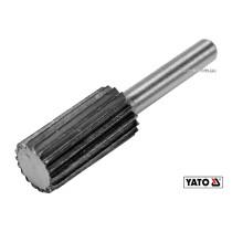 Фреза цилиндрическая по металлу YATO Ø13 x 25/55 мм HSS 4241 хвостовик- Ø6 мм