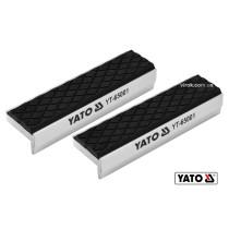 Сменные губки для тисков YATO 100 х 30 х 10 мм