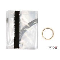"""Пленка пылезащитная для дверных и оконных проемов YATO 217 х 117 см тип """"U"""" отверстие- 180 х 60 см"""