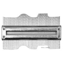 Шаблон для переноса складных профилей YATO 150 х 46 мм