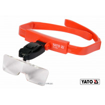 Линза на голову с подсветкой YATO 2 LED 5 шт с кратностью 1х, 1.5х, 2х, 2.5х, 3.5х