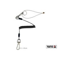 Мотузка стяжна для збереження інструментів YATO Ø= 1 мм, l= 52-170 мм, M≤ 2 кг + 2 карабіни