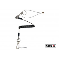 Пружинная веревка для инструмента YATO 1 мм x 52-170 мм 2 кг + 2 карабина