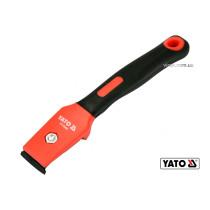 Цикля-скребок YATO 200 мм с лезвием 30 мм