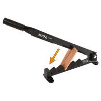 Дровокол ручной YATO нож- 680 х 8 мм станина- 355 х 40 мм лезвие- 270 мм