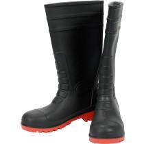 Сапоги ПВХ водонепроницаемые, химически устойчивые, антистатические с металлическим носком YATO, 38 см, размер 45