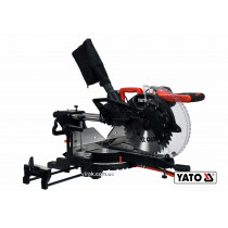 Пила торцовочная с лазером и протяжкой YATO 1.8 кВт диск 305 x 30 мм