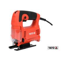 Лобзик с низкой вибрацией сетевой YATO 450 Вт 500-3100 об/мин 6/65 мм