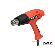 Фен технический YATO 2 кВт 450°/600° 250/500 л/мин регулятор температуры + 4 насадки