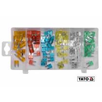 Набор предохранителей YATO MINI 120 шт