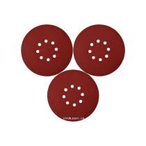 Круг шлифовальный с наждачной бумаги на липучке YATO 180 мм Р80 до YT-82341 3 шт